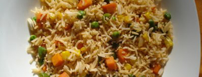 Yummy Vegetable Fried Rice – Indian Chinese Recipe