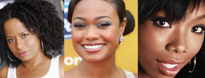 Brandy,Tatyana Ali & Tempest Bledsoe  Goes Nude For Skin Cancer PSA