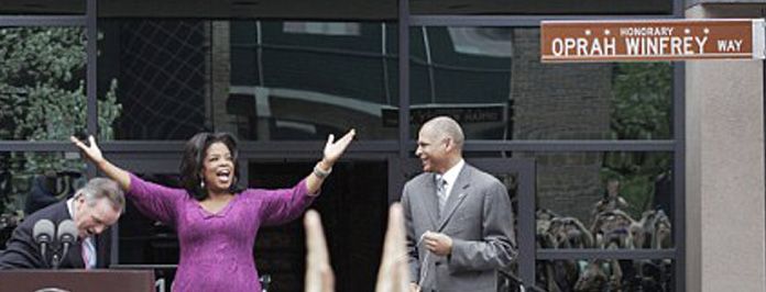 Congrats: Oprah Winfrey Gets Honorary Street Named After Her!