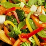20 Minute Meal Idea: Tasty Salmon Stir-Fry