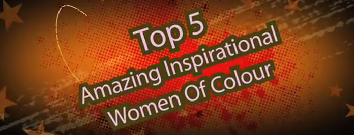 top 5 inspirational women