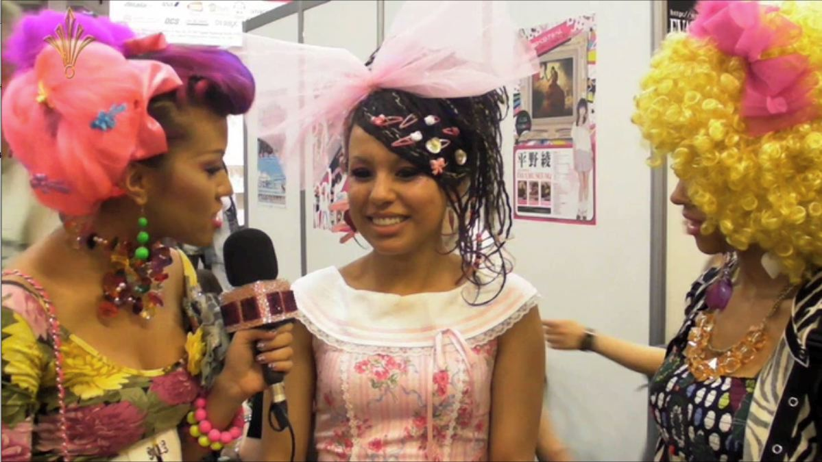 fashion talk at hyper japan