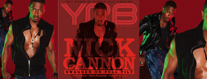 Nick Cannon Sexy Shoot For YRB Magazine