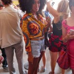 Solange Knowles wearing Boxing Kitten