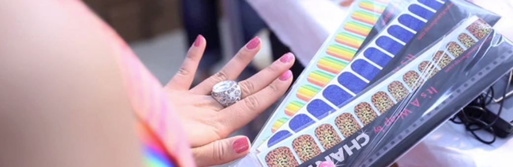 Industry Girls: Chantel's Nail Wraps & Competition