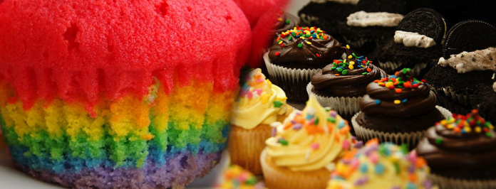 National Cupcake Week: Rainbow & Chocolate Cupcake Recipes