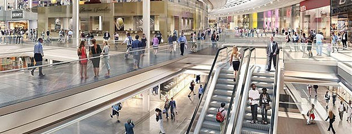 Westfields Stratford Openning 13th September 2011