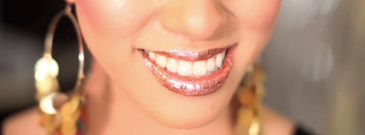 How To Get Amazing Sparkly Glitzy Lips