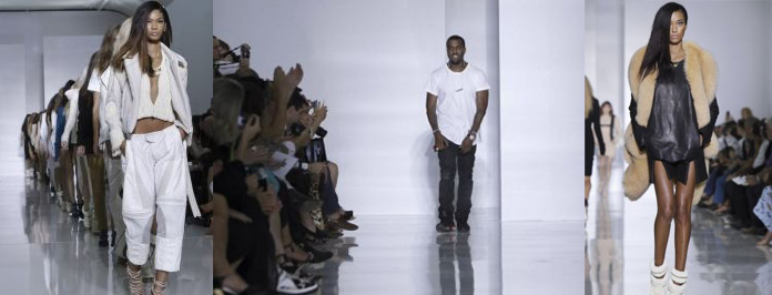 Kanye West Launch Fashion Line At PFW