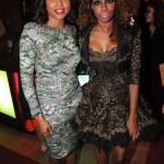 Taraji Henson and Necole-Bitchie