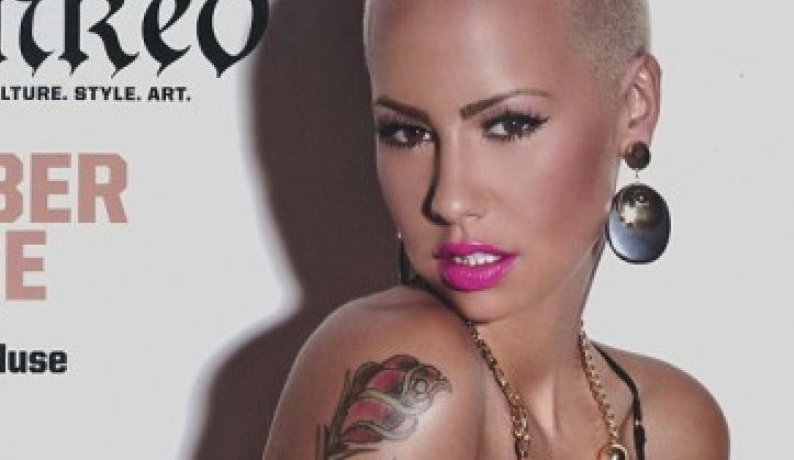 amber rose tattoo