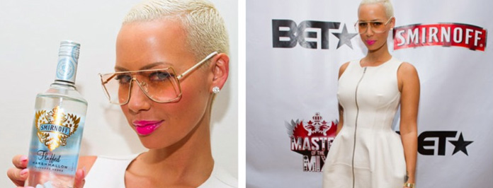 Amber Rose Talks Music Career- 'When I'm In The Studio I'm Like Sasha Fierce