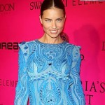 FASHION FACEOFF- RIHANNA VS. ADRIANA LIMA VS. KYLIE MINOGUE IN EMILIO PUCCI BLUE EMBROIDERED DRESS
