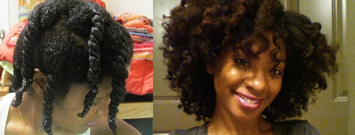 How to do a Wet Twist Out on Natural Hair