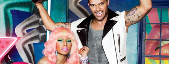 Ricky Martin & Nicki Minaj Pose For MAC Viva Glam