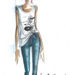 Rihanna Teams Up With Armani For New Denim/Underwear Collection  sketches