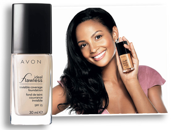 Being The Face of Avon Make-up