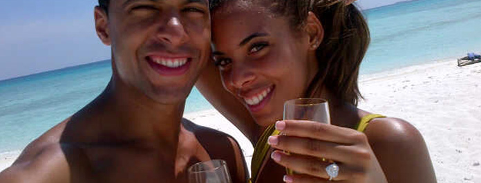 Awww Rochelle Wiseman & Marvin Humes Engaged To Marry