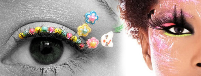 Fab Falsies! The Fun New Fluttering Trend For Your Eyes 2012