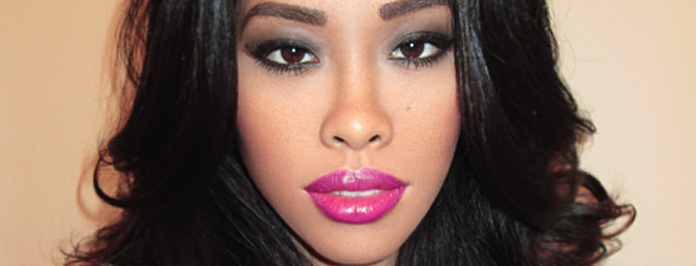 Fabolous Party Look, Sultry Smokey Shimmer Eyes Tutorial