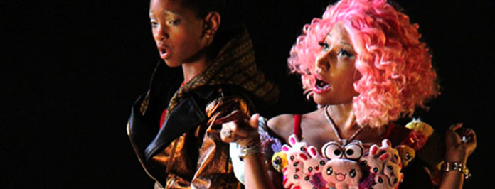 New Video- Willow Smith Featuring Nicki Minaj Fireball