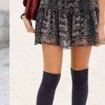 How To Rock The Knee High Sock Trend In Various Ways