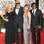 The 69th Annual Golden Globes Red Carpet Actor Morgan Freeman received the distinguished Cecil B. DeMille award