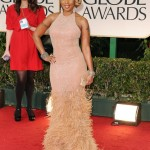 """The 69th Annual Golden Globes Red Carpet Mary J. Blige was nominated for Best Original Song in aMotion Picture for her track, """"The Living Proof,"""" the help"""