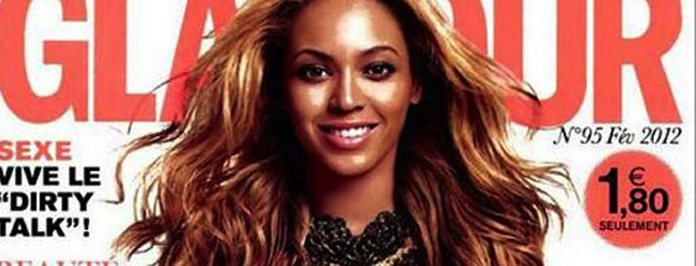 Beyonce Covers Glamour Magazine Paris 2012