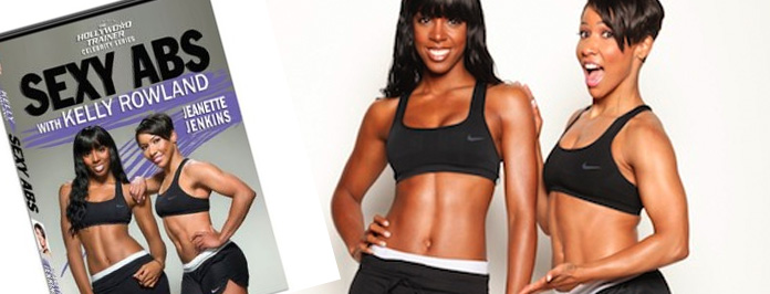 Find Out Kelly Rowland's Hot Body Secrets In Sexy Abs Workout DVD!