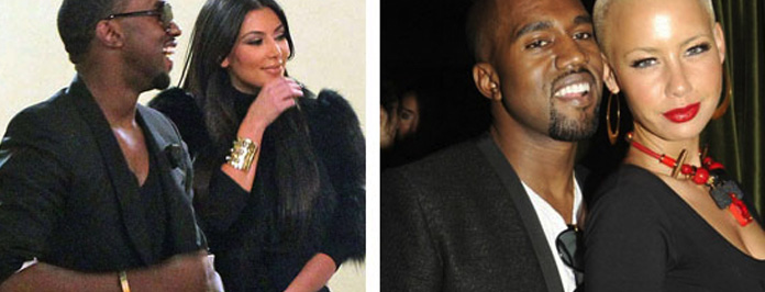 OMG Amber Rose Claims Kim Kardashian Broke Up Her Relationship With Kanye West