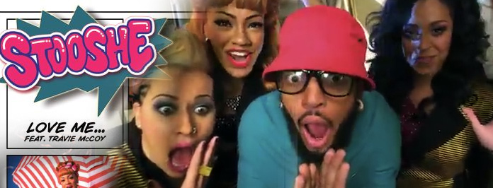 Stooshe Love Me feat. Travie McCoy Official Video
