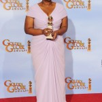 The 69th Annual Golden Globes Red Carpet Octavia Spencer, nominated for Best Performance