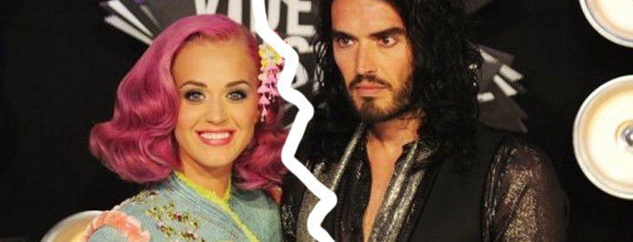 ssell Brand files for divorce from Katy Perry