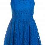 New Look Cut Out Back Lace Dress, £27.99