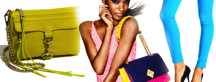 Bring On The Neon! 2012 Colours For The Daring Fashion Sistas