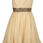 Fashion Union Cream One Shoulder Dress, £42 Buy Me