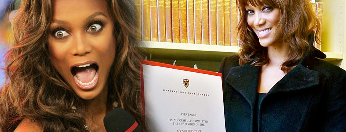 Go Gurl! Tyra Banks Graduates From Harvard Business School