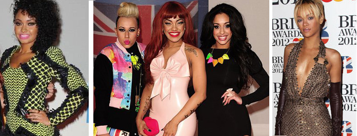 Hottest Celeb Moments From The Brit Award Red Carpet 2012 Winners & Losers