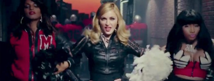 "Madonna f- Nicki Minaj & M.I.A.""Give Me All Your Luvin"
