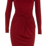 Dorothy Perkins Red Twist Front Dress, £35