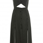 Miss Selfridge Polka Dot Split Dress, £39.00