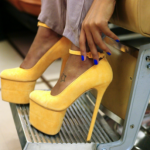 Angela-Simmons-106-Park-Yellow-High-Heels-530x298