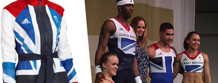 First Look- Team GB's kit for London 2012 by Stella McCartney and adidas