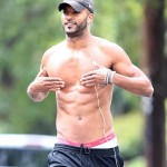 Hollyoaks_hunks_ Ricky Whittle Topless  LA