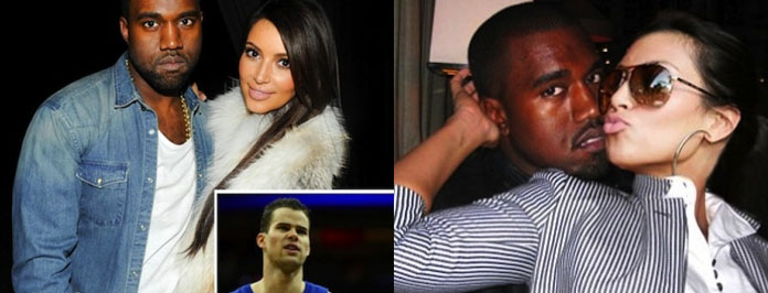Official Couple- Kanye West & Kim Kardashian But Kris Humphries Says Good Luck Dude