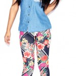 boohoo.com Connie All Over Floral Leggings £10