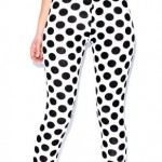 boohoo.com Rhia Polka Dot Leggings £10