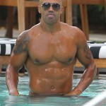 Criminal Minds Shemar Moore Topless On Miami Beach