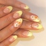 breezy summer nail art ideas flowers